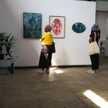 Guests viewing Amy Simons's work