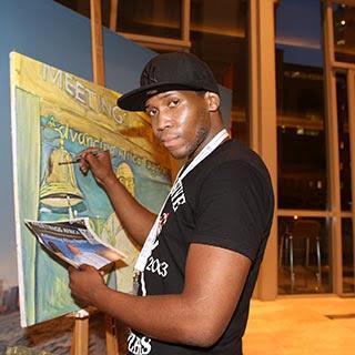 Andrew Ntshabele, Artist